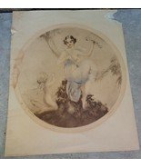 CAMILLA LUCAS ETCHING FAURE SIGNED My Arrows~PRE WWII 1936 - $15.00