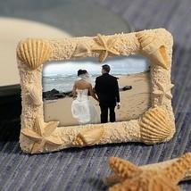 1 Beach Place Card Holder Picture Frame Wedding Bridal Shower Gift Favor... - $2.88