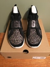 UGG Women's NEUTRA Fashion chunky Sneaker black glitter Size 9 bling! New  - $83.79
