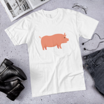 Pro pig t-shirt / pig T-Shirt / made in USA  image 2