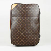 """Louis Vuitton Monogram Coated Canvas """"Pegase 55"""" Suitcase - $1,760.00"""