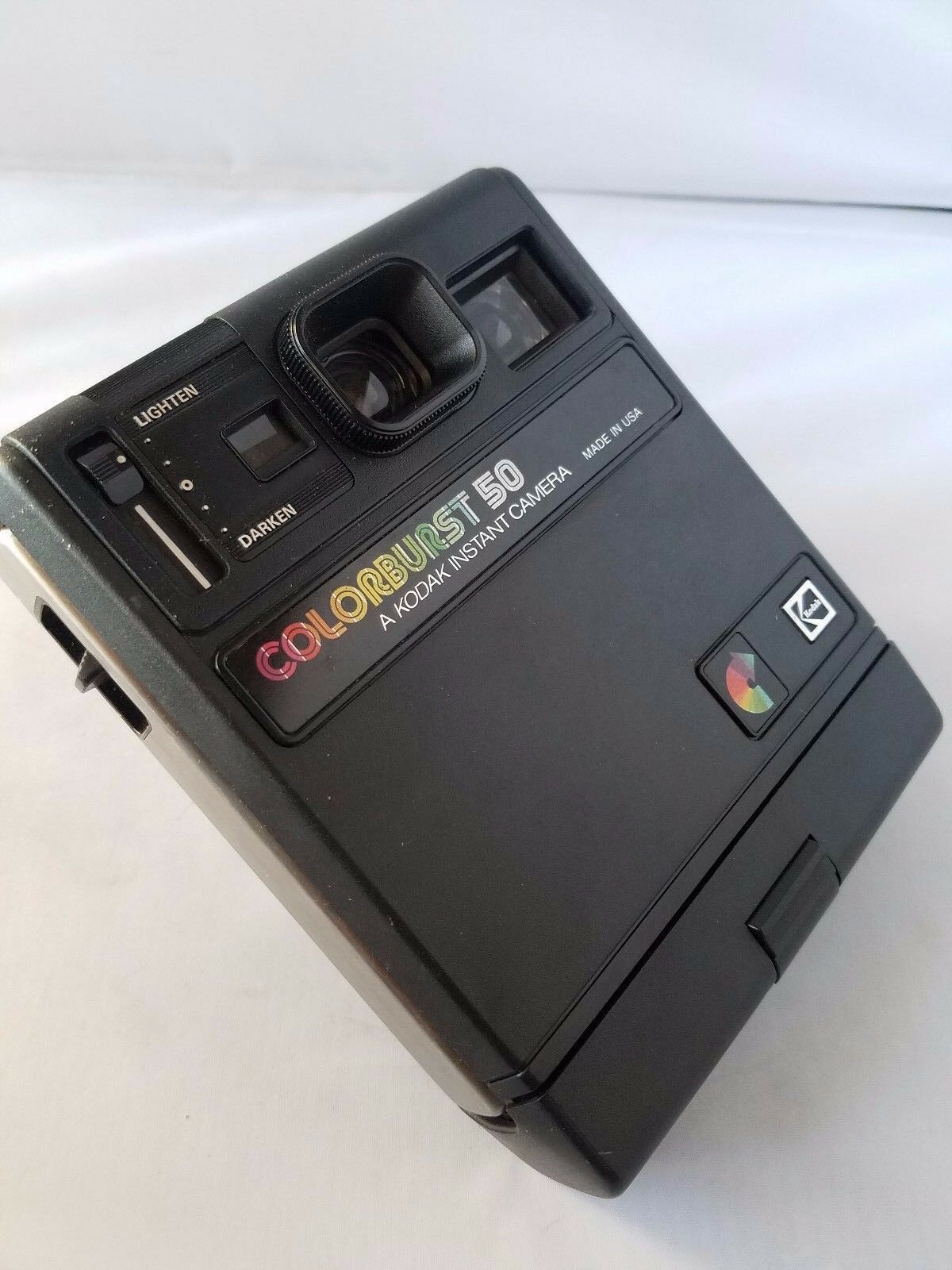 Kodak Colorburst 50 Instant Camera Vintage Collectible + FREE Flip Flash 3 Packs