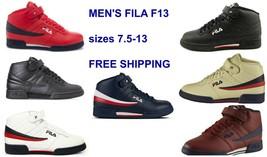 New Men's FILA F13 F-13 Mid Classic Strap HI-Top Basketball Shoes Sneake... - $48.95