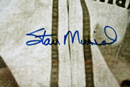 """STAN MUSIAL / AUTOGRAPHED 16 X 20 CARDINALS ROOKIE PHOTO / STAN """"THE MAN"""" HOLO image 5"""