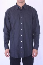 M NWT Robert Talbott Soft Knit Charcoal Gray Button Down Casual Shirt 86... - €138,65 EUR