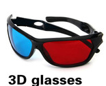 New 3D Glasses Red Blue Frame For Dimensional Anaglyph Movie DVD Game