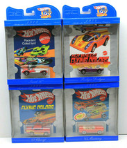 "1997 Hot Wheels 30th Anniversary Sweet 16+Rodger Dodger+""65 Mustang+'57 ... - $46.74"