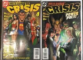 Identity Crisis #1-2 DC Comics Meltzer Morales Blair - $5.29