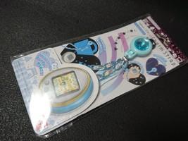Tamagotchi 4U Charm Strap Blue Stripe Style  4U exclusive strap BANDAI J... - $21.21