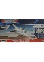 MAVERICK TOP GUN F-14 TOMCAT REVELL 1:72 EASY-CLICK PLASTIC MODEL AIRPLA... - $18.70