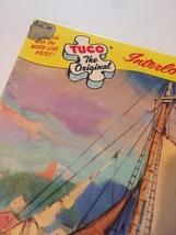 "Vintage 50s Tuco Interlocking Picture Puzzle- #5982 ""Along Cape Cod""  image 4"