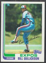 Montreal Expos Bill Gullickson 1982 Topps Baseball Card 172 ex mt - $0.50