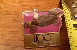 Ford Motor Company Anniversary Pin 100 Years  Purple Push Label Pin Hat ... - $9.89