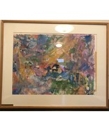 """Borax Original  1985 Collage Vintage  / Abstract Work On Paper  37""""x29""""/... - $233.75"""