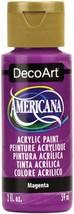 Americana Acrylic Paint 2oz-Magenta - $12.55