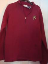 Ncaa Florida State Seminoles J. America Ladies Lined Half Zip Sweatshirt New - $31.75