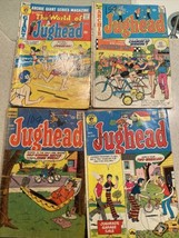 4 ARCHIE Silver Age Remaindered Comics-Jughead #157 12cents, 221 20cents 215&233 - $11.65