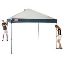 Instant Canopy Cover Coleman Gazebo Patio Outdoor Camping Backyard 10x10... - $148.81