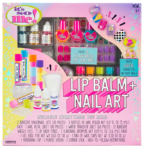 It's So Me Create Your Own Flavored Lip Balm + Cute Characters Nail Art Kit DIY image 1