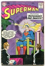 Superman #126 1959-DC COMICS-LOIS LANE-ALFRED E NEWMAN-good G - £45.23 GBP