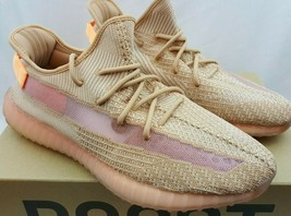Authentic Adidas Yeezy Boost 350 V2 Clay Kayne EG7490 Size 14 - $346.49