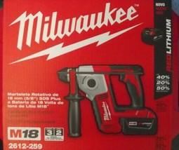 "Milwaukee 2612-259 M18 Cordless 5/8"" SDS Plus Rotary Hammer Kit 220-240v... - $217.80"