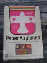 Lewis Lowe Die-cut Planes 1960s Paper Airplanes Kit 6 Vintage Art Deco - $49.49