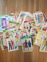 Vintage Sewing Patterns: McCalls, Simplicity, Kwik-Sew, Butterick: 60s and 70s