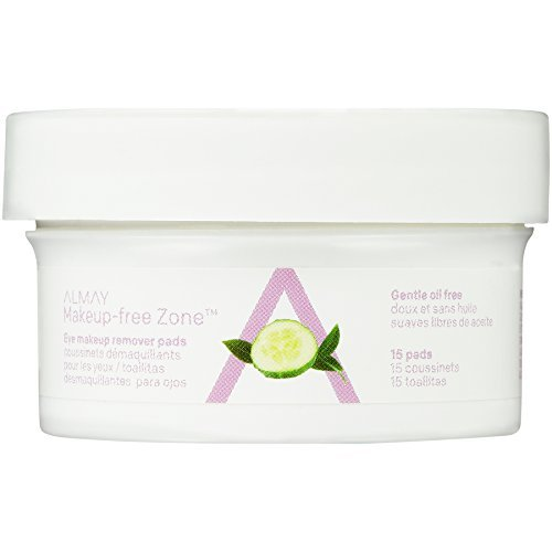 Almay Oil Free Eye Makeup Remover Pads, 15 Count in 1 box - $3.93