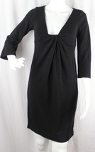 Diane von Furstenberg women's Elena wool dress black size 6 - $21.08
