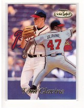 1999 Topps Gold Label #50 Tom Glavine Braves Collectible Baseball Card - $0.99