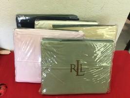 Ralph Lauren Classic Sheet Blush Solid T350 Supima Full Flat May Fit Queen 85X96 - $25.00