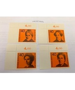 Germany Famous women mnh 1974  stamps - $2.30