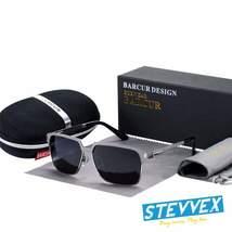 Luxury  High Quality Polarized Sunglasses Metal Frame Sunglasses For Men... - $38.00