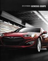 2013 Hyundai GENESIS COUPE sales brochure catalog US 13 2.0T 3.8 - $10.00