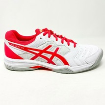 Asics Gel-Dedicate 6 White Laser Pink Womens Tennis Shoes 1042A067 102 - $69.95