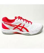 Asics Gel-Dedicate 6 White Laser Pink Womens Tennis Shoes 1042A067 102 - $69.95