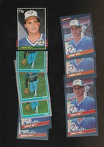 Jimmy Key Baseball 10 Card Lot Blue Jays 1985 1986 Donruss Fleer Leaf - $3.58