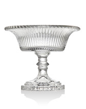 Cherish by Godinger Linear Footed  Bowl Size 6 inches L X 6 inches W X 5... - $17.86