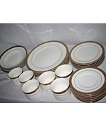 Gold Scrolls by Florida MarketPlace China  30-pc set for 6 Excellent - $79.19
