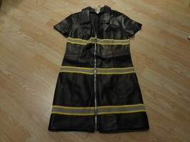 Women's Charades M Sexy Fireman Jacket Zip Up Halloween Costume - $23.14