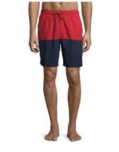 "George Men's and Big Men's 8"" All Guy Color Block Swim Shorts L - $10.88"