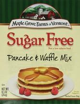 Maple Grove Farms Sugar Free Pancake and Waffle Mix, New Formula 8.5 Oz ... - $29.20