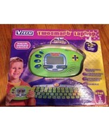 NOS! VTech Twosmart 2 in 1 Laptop Tablet Learning Math Spelling Games Music - $37.01