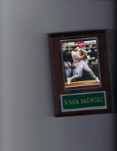 Mark Mc Gwire Plaque Baseball Oakland A's Athletics Mlb - $2.86