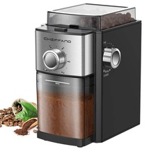 Conical Burr Coffee Grinder, CHEFFANO Electric Coffee Bean Grinder with ... - $128.99