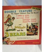 """Vintage 1949 Peter Pan Records Little Red Riding 78 #2119 10"""" Collectors... - $22.72"""