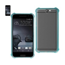 Reiko Htc One A9 Clear Bumper Case With Air Cushion Protection In Clear ... - $8.54