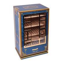 Elie Bleu Alba Blue Sycamore  Wood Cabinet Humidor 150 count - $8,700.00