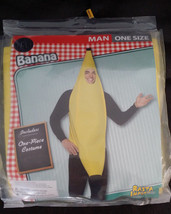 Banana Adult Costume One Size Rasta Imposta - £13.50 GBP